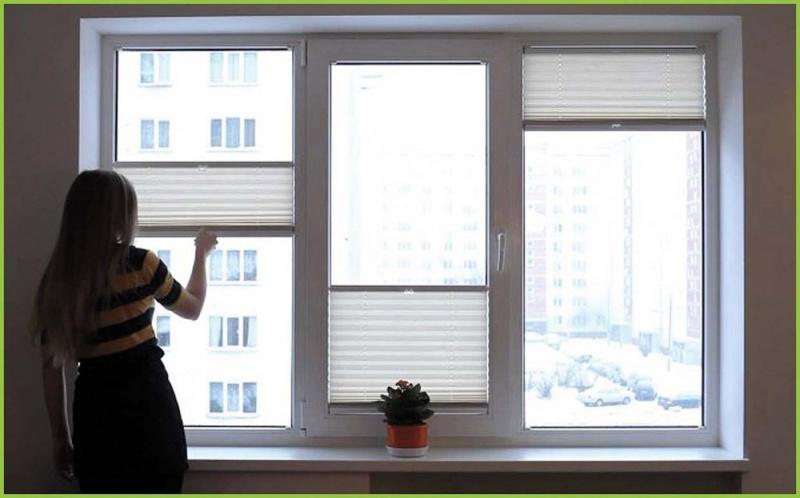 Шторы плиссе на окна в Хабаровске